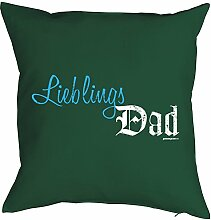 Geschenkidee für Papa Vatertag bedrucktes Kissen