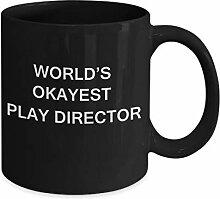 Geschenkidee für Play Director Worlds Okayest