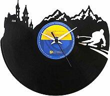 Geschenkidee für Skifahrer, Berge, Andenken Vinyl