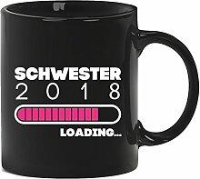 Geschenkidee Geburtstag Geburt Kaffeetasse