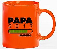Geschenkidee Kaffeetasse Kaffeebecher mit Papa