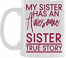 Geschenkidee Lustige Schwester-Schale - meine
