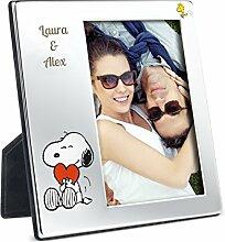 Geschenkidee Snoopy-Bilderrahmen mit Gravur