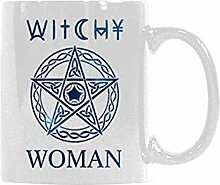 Geschenkidee Witchy Woman Coffee Mug Tea Cup White