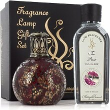 Geschenkset Katalytische Lampe kleine Asleigh & Burwood pfl636Dragon 's Eye und Duft 250ml pfl915especies-Marokko