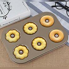Geschirr 3 Blume Art Donut Keksform, kann bei 6
