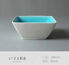 Geschirr Die Form der Geschirr-Grube Glasierte
