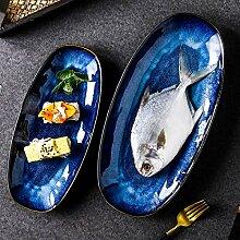 Geschirr Dinner Platten Stilofen wechselnde