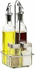 Geschirr Glas Öl Topf europäischen Gewürz Glas