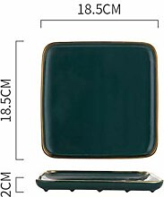 Geschirr Green Ceramic Dinner Set Porzellan