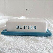 Geschirr Keramik Butterdose mit Deckel, perfekt