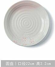 Geschirr Keramik kreative Familie Frühstück