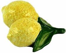 Geschirr-Serie Lemoni Dekozitrone, gelb grün, L10 x B12 x H5 cm