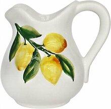 Geschirr-Serie Lemoni Krug, weiß gelb, 500 ml, H13 cm
