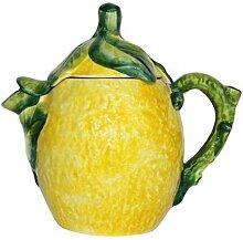 Geschirr-Serie Lemoni Teekanne, gelb grün, H19 cm