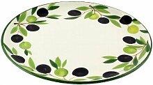 Geschirr-Serie Oliv Speiseteller, Ø26 cm