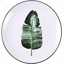 Geschirr Speiseteller Tafelservice 8 Zoll Grüne