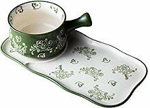 Geschirr Tafelservice Griff Keramik Auflaufform