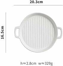 Geschirr Tafelservice Keramik Teller
