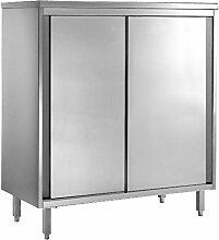 Geschirrschrank aus CNS 18/10, 1600x600x2000mm,