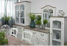 Geschirrschrank Circee Lily Manor Farbe: Weiß
