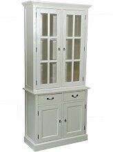 Geschirrschrank Farragut Sommerallee Farbe: Weiß