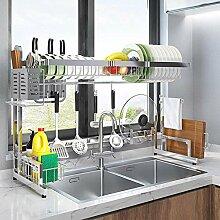 Geschirrtrockner über Waschbecken, Abtropffläche