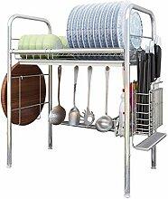 Geschirrtrockner über Waschbecken