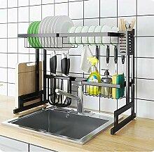 Geschirrtrockner über Waschbecken, Platz sparen