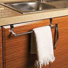 Geschirrtuchhalter - Handtuchhalter zum Hängen über den Schrank