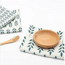 Geschirrtücher mit einem Blatt Design Frischer