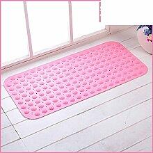 Geschmacklos Badezimmer Matte,King Size Mit Saugnapf Dusche Massage Matte,Toilette WC Wasser Isoliert Pad-D 46x78cm(18x31inch)