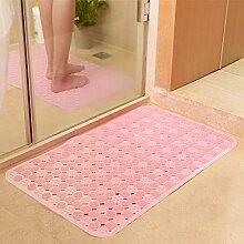Geschmacklos Badezimmer Matte,WC Dusche Badvorleger,Dusche Badematte,Sanitär Kunststoff Kunststoff-pad-H 58x88cm(23x35inch)