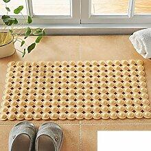 Geschmacklos pvc rutschfeste badematte/wc-kissen/dusche massagematte-I 34x70cm(13x28inch)