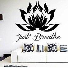 Geschnitzte Lotus Art Aufkleber Wasserdichte