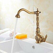 Geschnitzte Waschbecken Wasserhahn Hochwertige