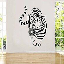 Geschnitzte Wilde Tiger Aufkleber Wasserdichte