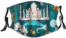 Gesichtsschutz Mundschutz Ost mit Taj Mahal und