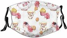 Gesichtsschutz Mundschutz Teezeit Teekanne