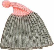 Gespout Caps für Kinder Baby Niedlicher Hut Babymütze Strickmütze Winter Baby Hüte Kinder Warm Mütze Mädchen Jungen Hu