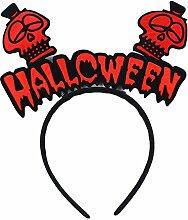 Gespout Haargummis Haarbänder Haarnadel Banner Kopf Schnalle Haarbänder Halloween Kopfschmuck Abend Party Haarschmuck Haar Accessoires Dekorationen