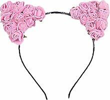 Gespout Haargummis Haarbänder Haarnadel Bubble Blumen Haarbänder Kopfschmuck Party Haarschmuck Haar Accessoires Dekorationen