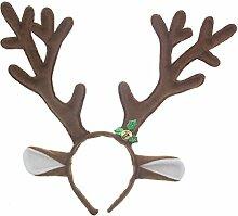 Gespout Haargummis Haarbänder Haarnadel Geweihe Haarbänder Weihnachten Kopfschmuck Abend Party Haarschmuck Haar Accessoires Dekorationen