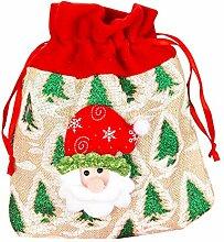 Gespout Weihnachten Geschenkbeutel Kordelzug
