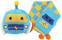 Gespout Winter Baby Strick Mütze Unisex Babymütze Kinder Hüte Warm Mütze Baby Niedlicher Hut Mädchen Jungen Hut Caps für Baby