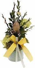 Gesteck floristisch Blumengesteck im Keramiktopf H