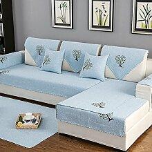 Gesteppte möbel protektoren Für couch Loveseat