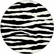 Gestreifte, Afrika Zebra Tapete im Fell Look