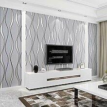 Gestreifte Tapete Für Wände Rolle Wohnzimmer Tv