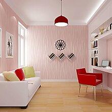 gestreifte Tapete/Schlafzimmer Vlies Tapete/Wohnzimmer TV Wand Hintergrundpapier/Teppichboden Tapete/einfache Tapete-D